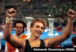 Віталій Щербо на 25-х літніх Олімпійських іграх у Барселоні, 1992 рік