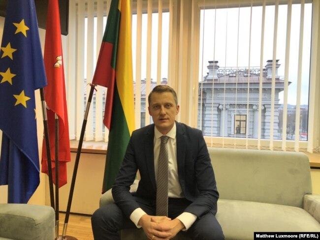 """Ministar energetike Litvanije Zigimantis Vajciunas rekao je da je beloruska nuklearna elektrana pretnja za litvansku """"nacionalnu bezednost, javno zdravlje i životnu sredinu""""."""