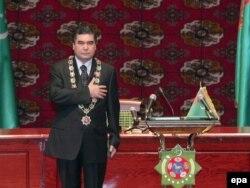 Інаўгурацыя Гурбангулы Бердымухамедава ў 2007 годзе