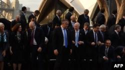 Министры финансов и главы центробанков стран «Большой двадцатки» в Сиднее.