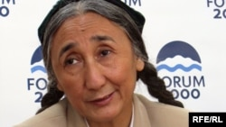 Rebiya Kadeer, exiled president of the World Uyghur Congress (file photo)