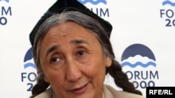Rebiya Kadeer, president of the World Uyghur Congress