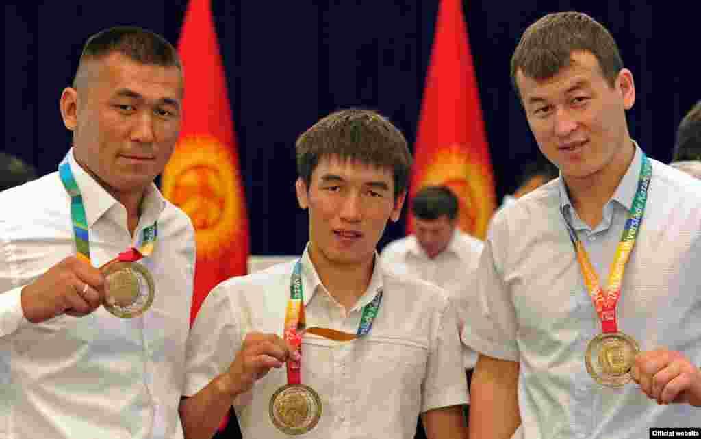 На счету сборной Кыргызстана 12 медалей