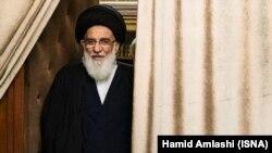 Influential ayatollah and political figure Mahmoud Hashemi Shahroudi, undated.
