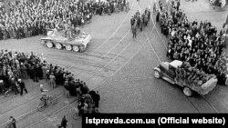 Савецкія войскі ў Рызе, 17 чэрвеня 1940 году