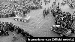 Ввод советских войск в Латвию. 17 июня 1940 года.