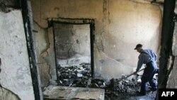 Так выглядят сегодня некоторые помещения молдавского парламента. Пока не известно, кем направлялись громившие его люди.