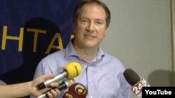Андреј Жерновски, градоначалник на Општина Центар.