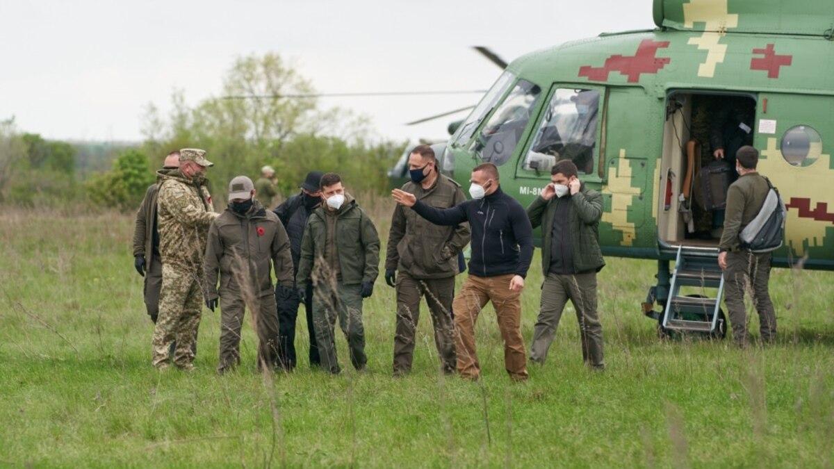 Зеленский в День памяти и примирения поехал к границе с Россией