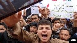 Nga protestat në Kirkuk...