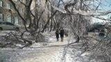 Владивосток ледяной дождь