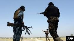 Personeli i sigurisë afgane, ilustrim.