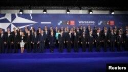 Удзельнікі саміту НАТО ў Варшаве