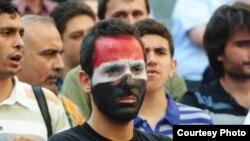 Большинство сирийских студентов, обучающихся за границей, выступают против режима Асада. Демонстрация в Стамбуле.