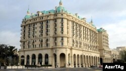 Отель Four Seasons Hotel in Baku, Баку, 3 сентября 2012