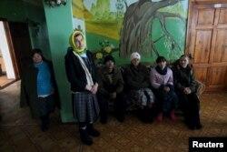 Психо-неврологическая больница в оккупированном «ЛНР» в Славяносербске, декабрь 2014 года