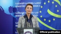 Генеральный секретарь Совета Европы (СЕ) Мария Пейчинович-Бурич (архив)