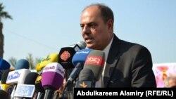 مؤيد اللامي نقيب الصحفيين العراقيين