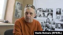 Petru Bogatu în studioul Europei Libere