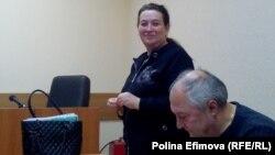 Татьяна Быковская в суде