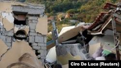 Зруйновані будинки на острові Іскія, 22 серпня 2017 року