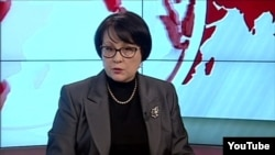 "Lilia Budzhurova of the Crimean Tatar TV channel ATR was warned by prosecutors over ""extremist"" views."