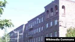Зградата на Националната служба за безбедност на Ерменија.