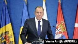 Šef ruske diplomatije Sergej Lavrov na sastanku Organizacije za crnomorsku saradnju