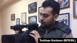 Турал Мустафаев, бывший корреспондент Азербайджанской редакции Азаттыка.