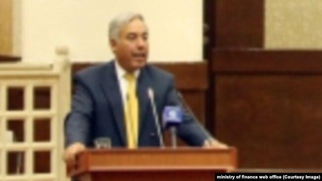 همایون قیومی سرپرست وزارت مالیه افغانستان