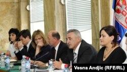 Sastanak predstavnika komisija Srbije i Hrvatske za traženje nestalih, 27. jul 2010.
