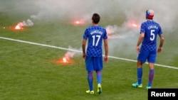 Incidenti na utakmici Češka Hrvatska, 17.juna 2016.