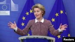 Претседателката на Европската комисија Урсула фон дер Лајен