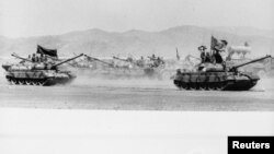 Советские танки в Афганистане, архивное фото