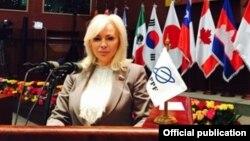 Член совета федерации от Крыма Ольга Ковитиди в составе делегации в Эквадоре.