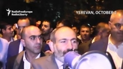 Pashinian Gets Throngs Of Armenians On The Streets... Again