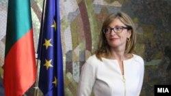 Министерката Екатерина Захариева