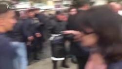 Полиция начала задерживать участников митинга Национального Совета