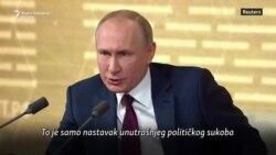 Putin: Opoziv Trampa je unutrašnji politički sukob