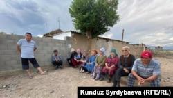 Жители села Кызыл-Орук.