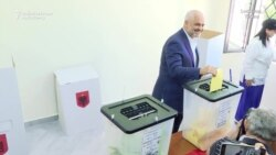 Albanian Prime Minister Casts Ballot In Local Polls