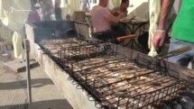 Феодосия: фестиваль рыбной кухни в разгар туристического сезона (видео)