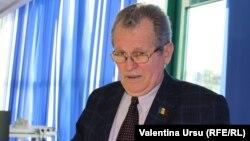 Prof. univ. Alexandru Arseni în studioul Europei Libere de la Chișinău. 19 februarie 2021