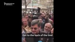Hardliner Heckled In Iran Vote