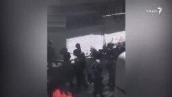 نیروهای امنیتی در نزدیکی بازار تهران