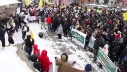 Митингующие потребовали встречи с президентом Татарстана