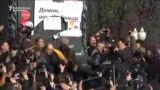 Police Disperse Anticorruption Rally In Moscow