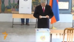 Armenians Vote In Presidential Election