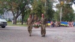 У Дніпропетровську із АТО урочисто зустріли демобілізованих бійців 43-го батальйону