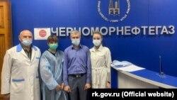 Вакцинація від коронавірусу російським препаратом «Спутник V» в ДУП «Чорноморнафтогаз»